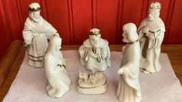 Blog - Sharon Krause - White Shiny Nativity Set_photo